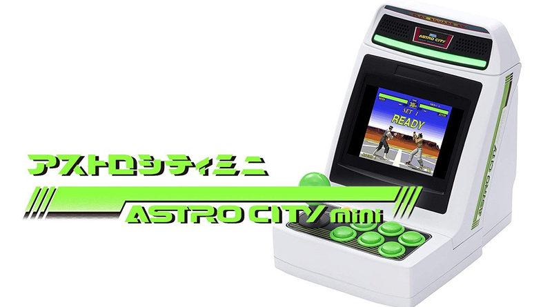 Sega annonce l'Astro City Mini pour la fin de l'année