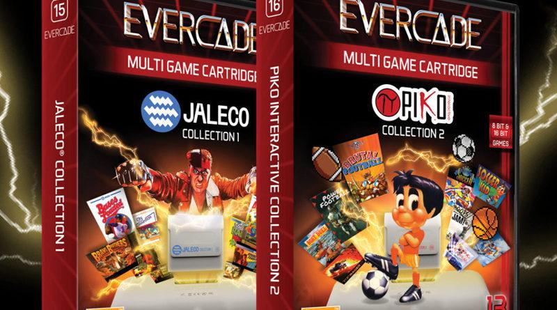 2 nouvelles compilations pour l'Evercade