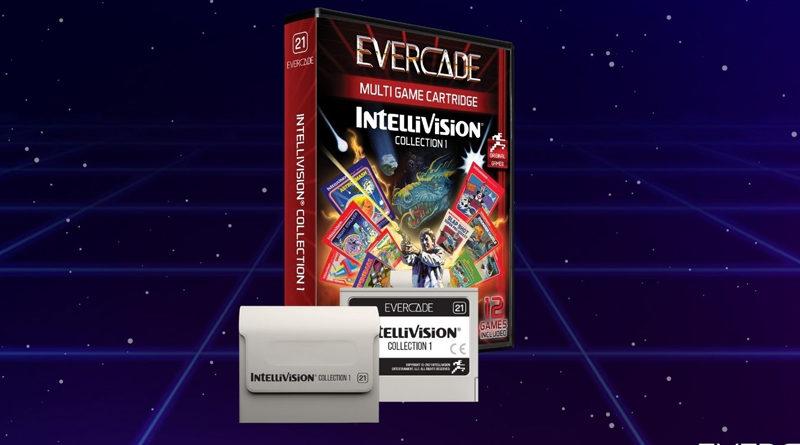 Intellivision x Evercade : la liste des jeux