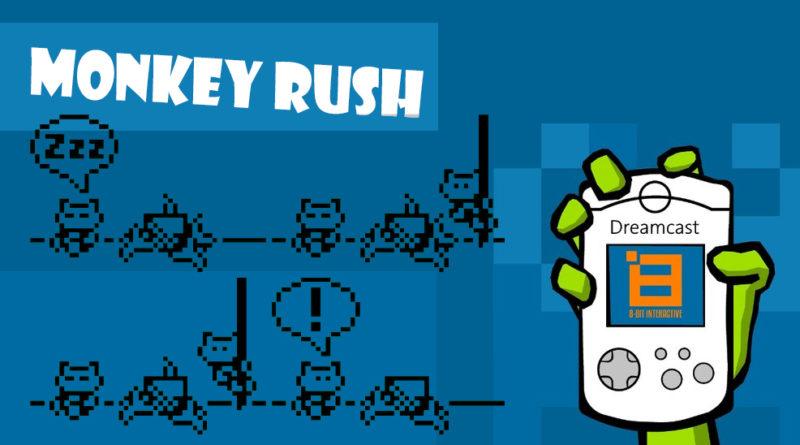 Monkey Rush s'affiche sur VMU